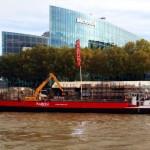Transport fluvial pour distribution urbaine pour RABONI