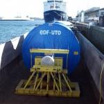 transporteur fluvial pour EDF
