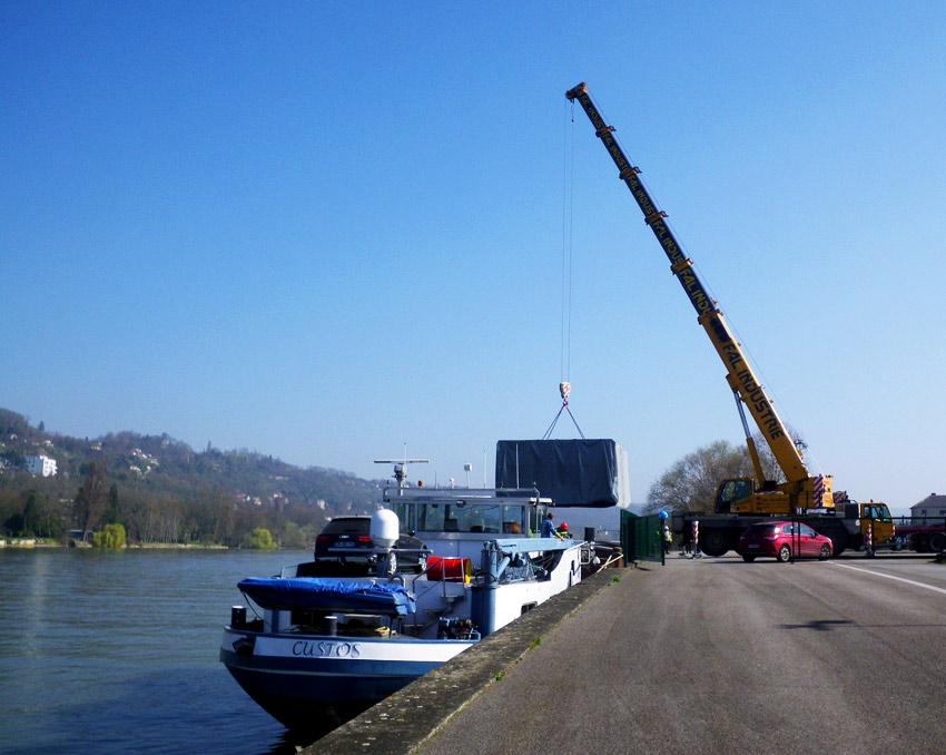 Transport fluvial de colis lourds coalis - Prix colis transporteur ...