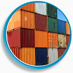 transport fluvial de conteneurs