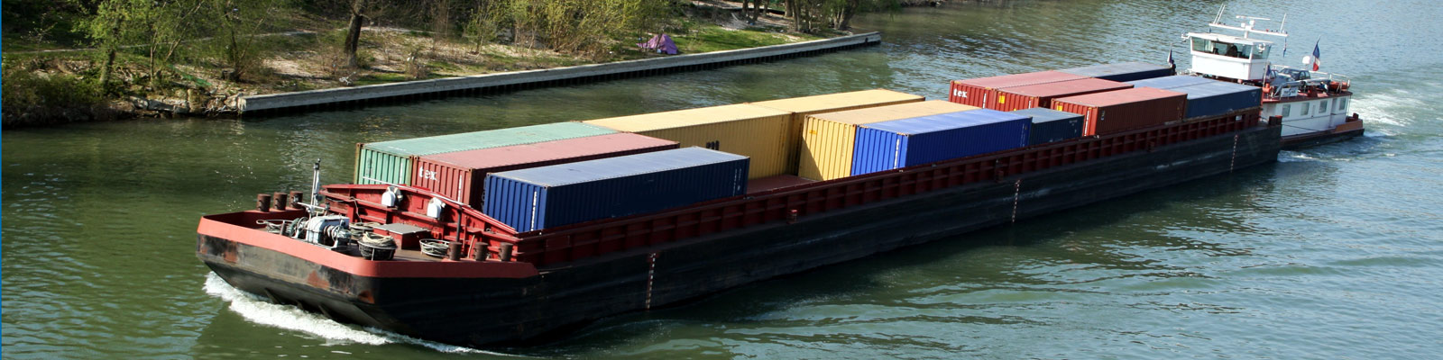 Transport conteneurs seine
