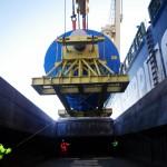 Transport fluvial de pieces industrielles
