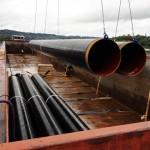Transporteur fluvial pièces de chaudronnerie industrielle