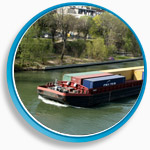 transport conteneur seine