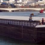 Convoi fluvial de 4.500 tonnes pour la distribution urbaine